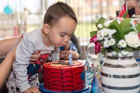 Fødselsdagskage til dreng