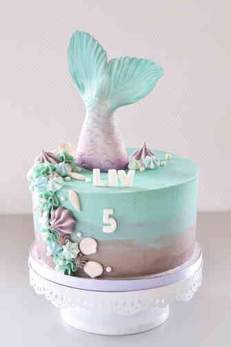 Havfrue kagen