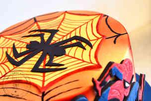 Spiderman fødselsdagskage