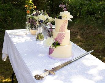Bryllupskage uden fondant Baking Sins by