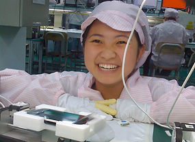 Global Access, Happy Worker, Quality Assurance, Smiling person, Girl, Chinese Girl
