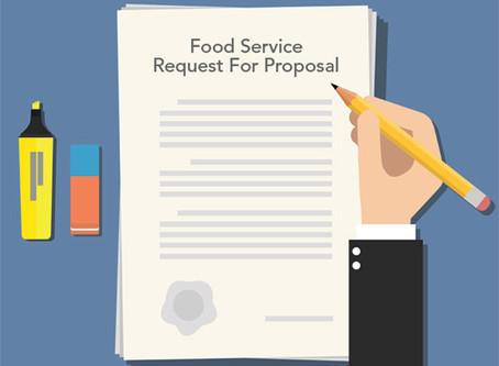 RAS Accepting Food Service Management Proposals!