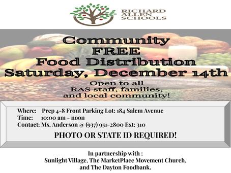 RAS Community Food Distribution
