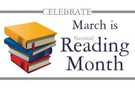 It's National Reading Month!