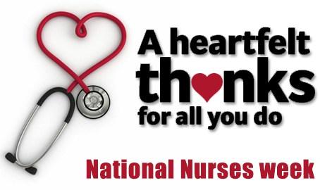 National Nurse Week - May 6-12