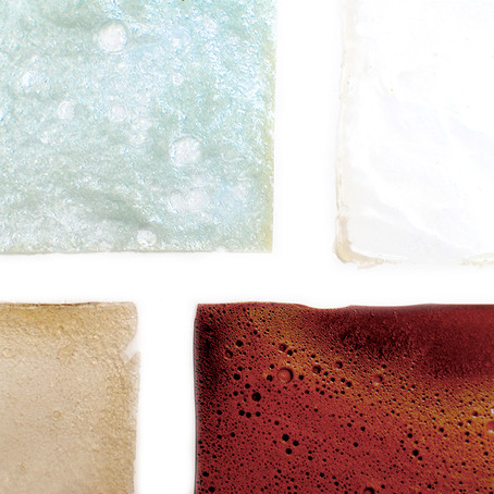 Create your own textile!   Bioplastic cookbook