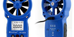 Medidor de Viento Anemometro Digital Holdpeak 866a