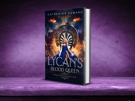COVER REVEAL: LYCAN'S BLOOD QUEEN