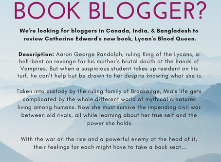 Bloggers Wanted: Lycan's Blood Queen