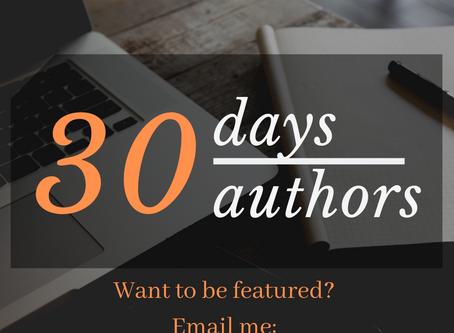 30 days 30 authors