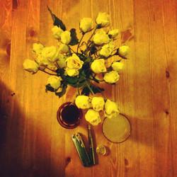 #bouquet of #foundart in #yellow__#flowe