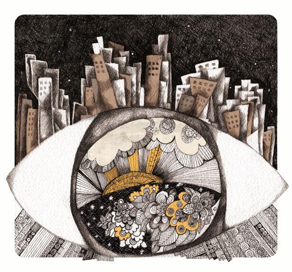 Dream of City through the Eye of Wom
