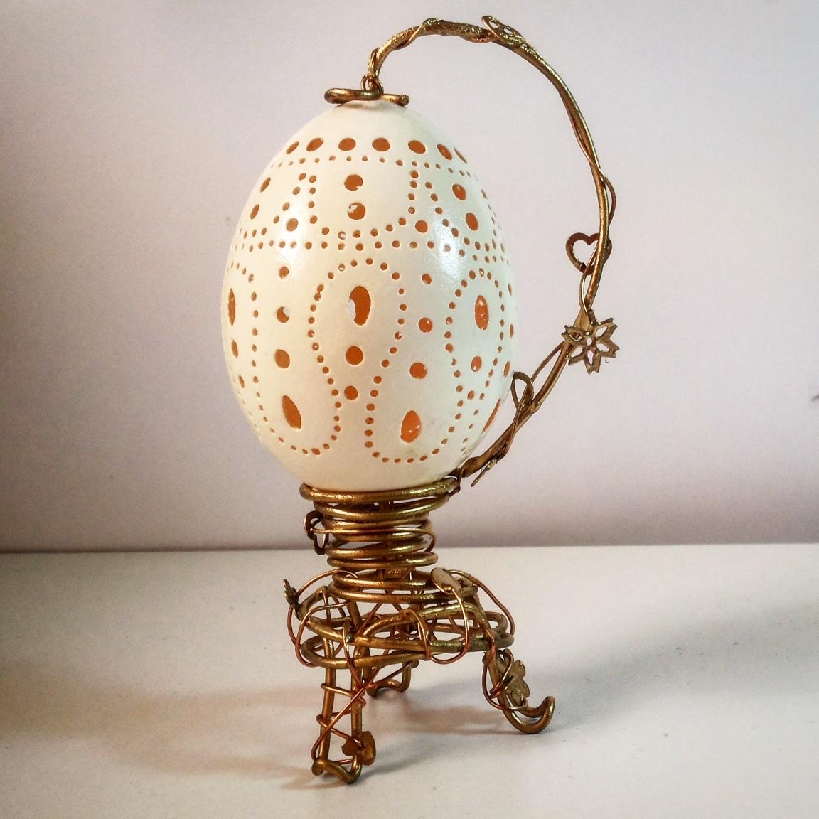Carved Egg