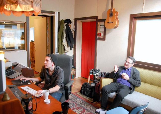 Produksjon og låtskriving i Vakuum Studio