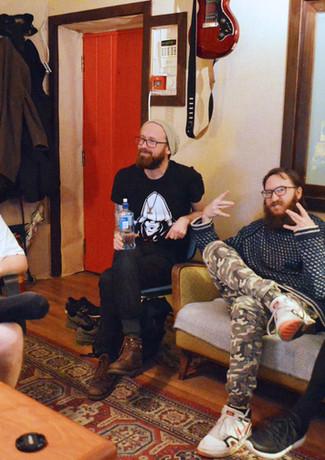 Innspilling med Sinsenfist i Vakuum Studio