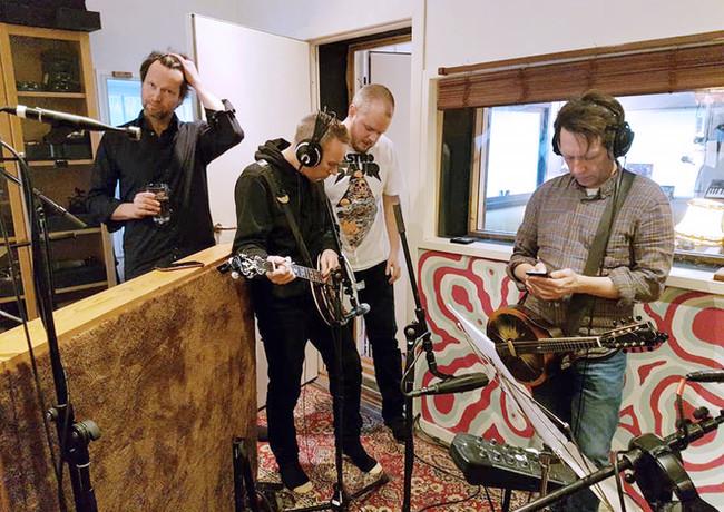 Innspilling av live band i Vakuum Studio