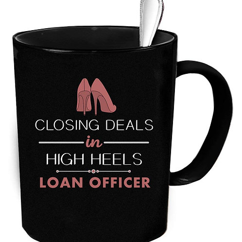 Loan Officer Coffee Mug - High Heels