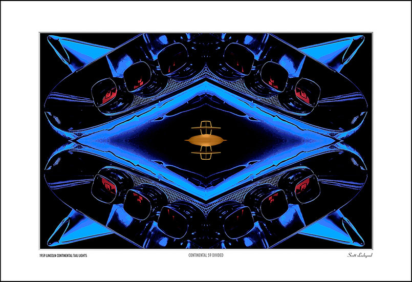 """CONTINENTAL 59 DIVIDED - 22"""" x 16"""""""