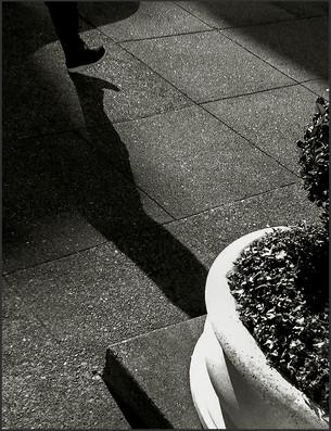 A DECISIVE MOMENT - Homage to Cartiér Brésson - B&W photograph by fine art photographer Scott Lockwood.