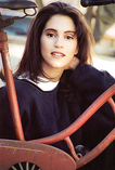 Photo of actor Jamie Gertz by Scott Lockwood - Los Angeles c.1994