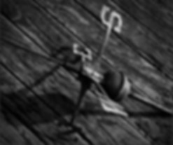 Weathervane - Dramatic, B&W photo by Bay Area fine art photogapher Scott Lockwood.
