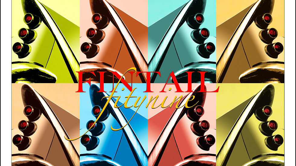 """FINTAIL FIFTY NINE - 36"""" x  24.5"""""""