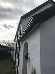 UHS Supplied Seamless Guttering
