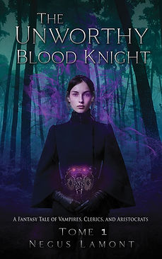 The Unworthy Blood Knight - Cover E-Book