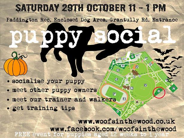 puppy event London