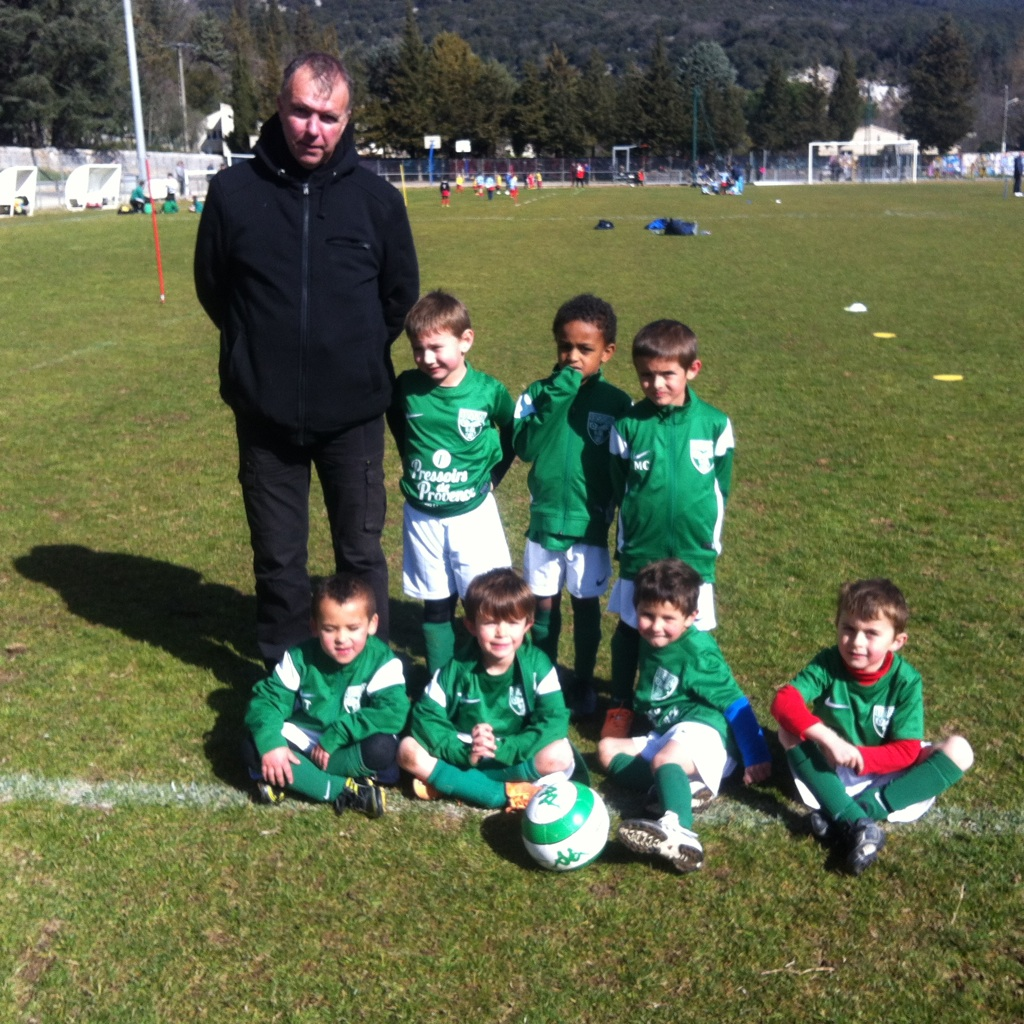 Equipe U6 Saison 2014-2015
