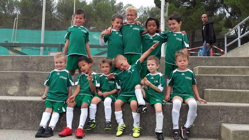 Equipe U6 saison 2017-18