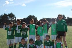 Equipe U8 Saison 2014-2015