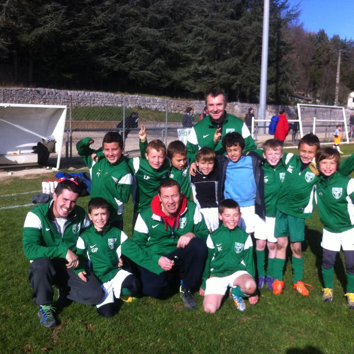 Equipe U9 Saison 2014-2015