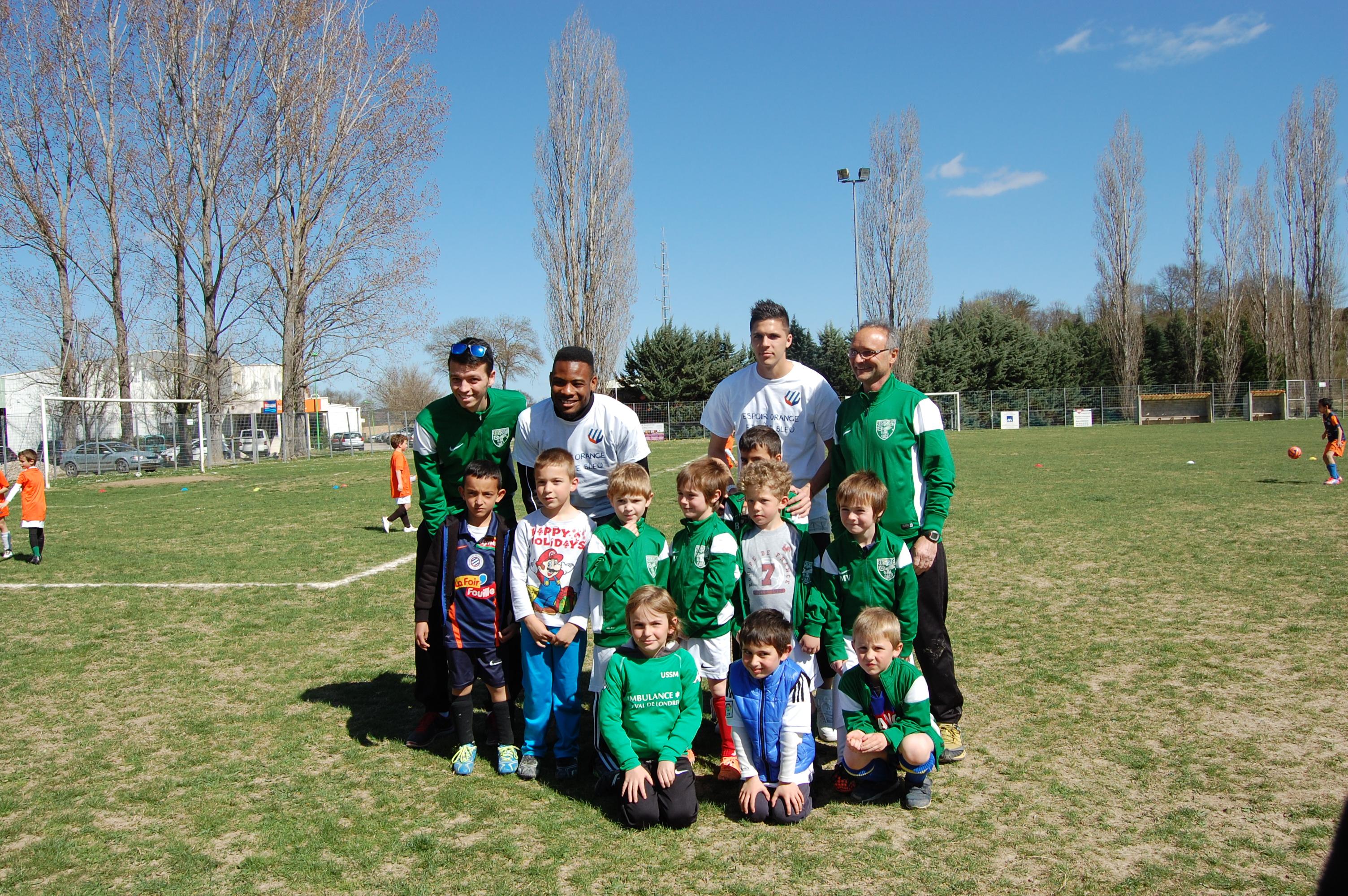 Equipe U7 et joueurs MHSC