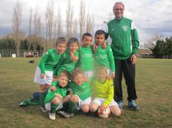 Equipe U7 saison 2014-2015