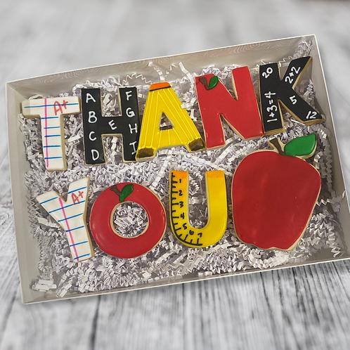 Deluxe Teacher Appreciation Cookie Set