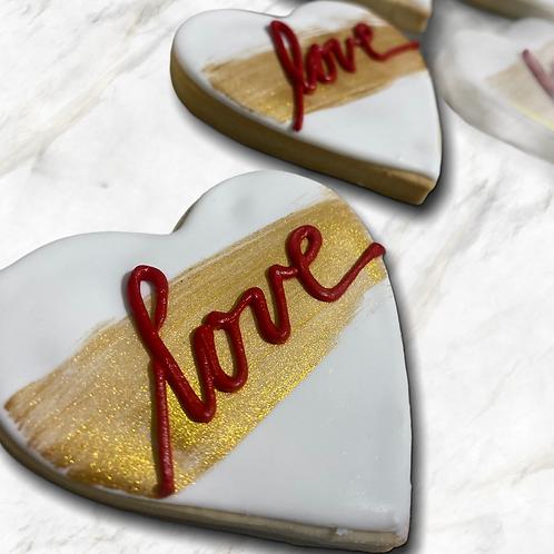 Dozen Assorted Valentine Cookies