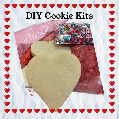 DIY Valentine Cookie Kit