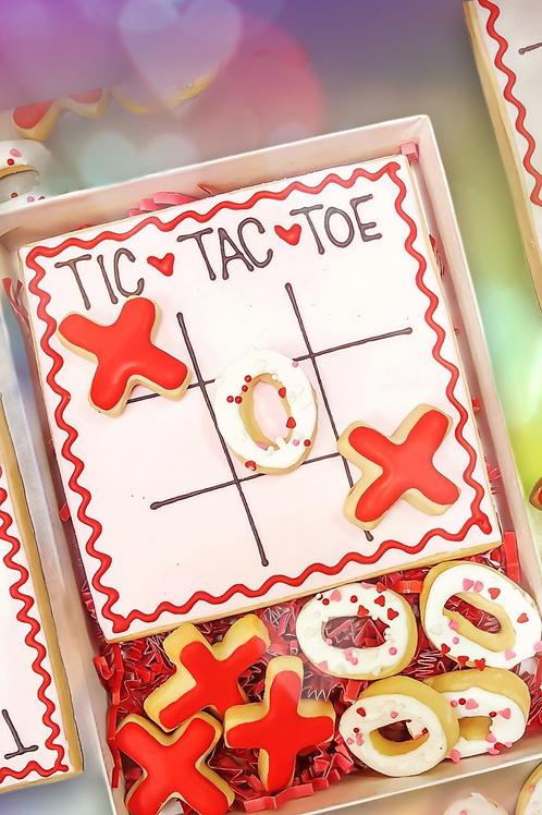 Tic Tac Toe Cookie Set