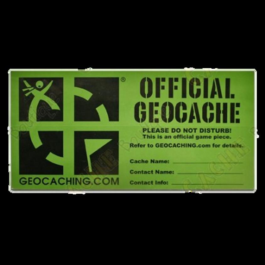 Sticker Geocache Large