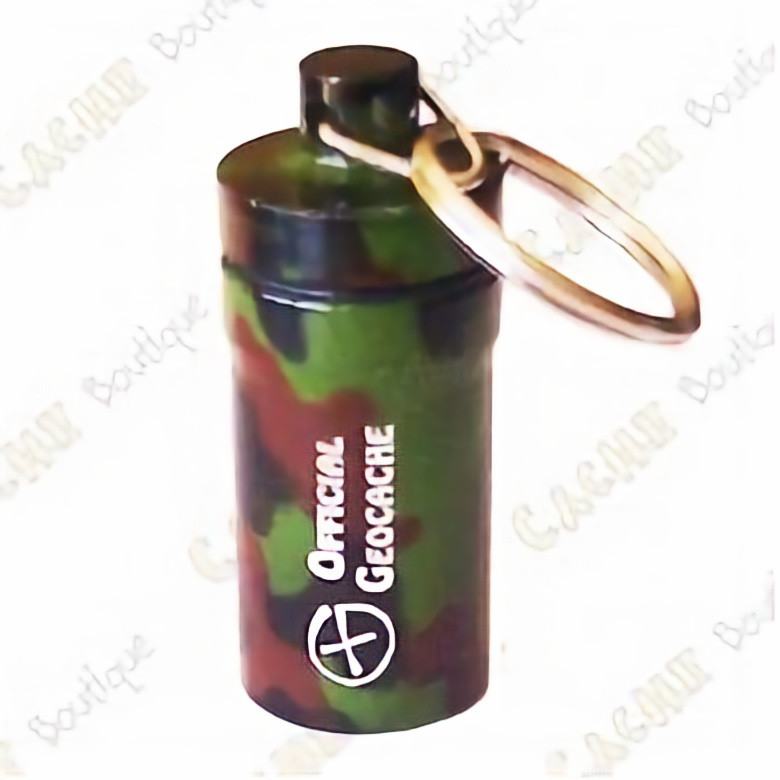 Microcache tube 5cm Diam.2cm Camouflage