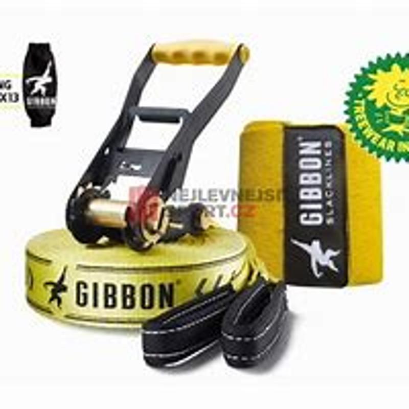 Slackline Gibbon Classic line XL 25m tree protection