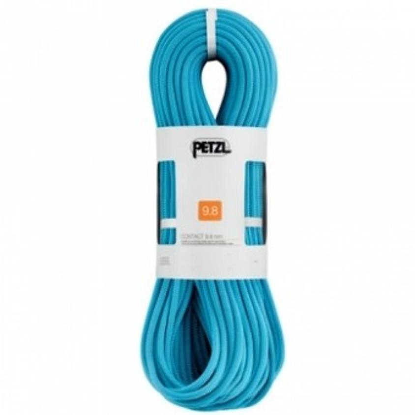 Corde à simple Petzl 40m 9.8mm