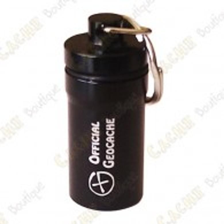 Microcache tube 6cm Diam.2cm _Black