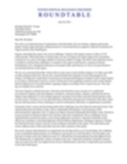 Letter to POTUS T - Nigeria Special Envo
