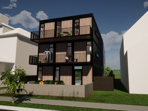Schematic Approval for E. 72nd Street Duplexes