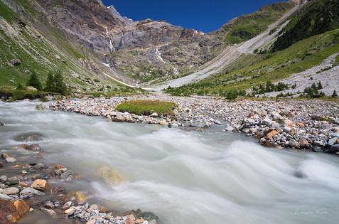 Die Kander (Aare), Berner Oberland (Schweiz)