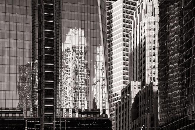 Glasreflexion