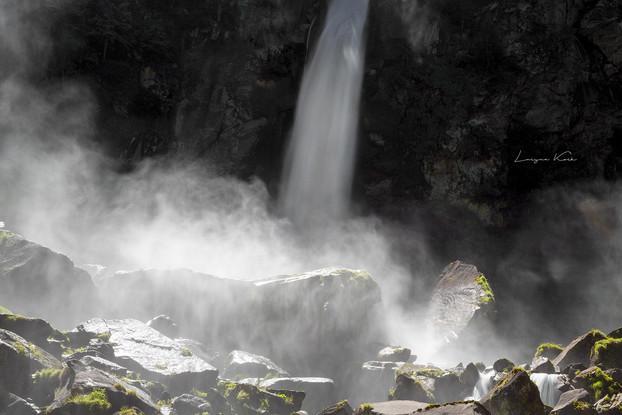 Cascata di Foroglio, Tessin (Schweiz)