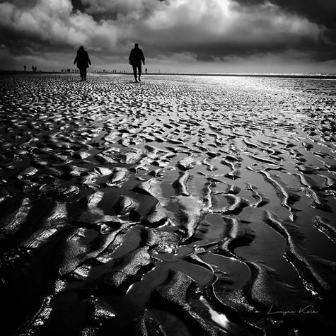 Sandformen bei Ebbe